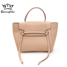 Крылатые сумочки онлайн- Belt Knot PU Leather Bags Female Designer Handbag High Quality Shoulder Bags  Tote wing For Women 2017