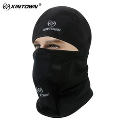Wholesale Bike C - XINTOWN Cycling Masks Winter Breathable Elasticity Thermal Bicycle Cap Collar Headscarf Bicycle Bike Black Warm Cycling Mask C