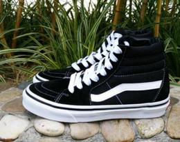 Wholesale vs lace - 2018 Classic VS Suede Canvas Men Women Casual Shoes High-top Canvas Sneakers Unisex Shoes wholesale 36-44.