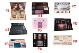 Wholesale Color Gift Boxes - Newest Lip Kit by Velvetine Liquid Matte 12 Days Vault Makeup Holiday Big Box I WANT IT ALL The Birthday Collection Christmas Gift