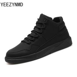 Elegantes zapatos casuales de hombre con cordones y zapatos cómodos Moda de cuero de la PU Popular para hombre Calzado negro gris rojo desde fabricantes