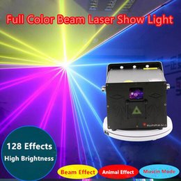 Wholesale home disco laser lights - Wholesale prcie 2018 newest 1W ILDA RGB Programming Stage Laser Light for DJ Disco bar event