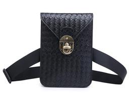 Bolso de la cintura de las mujeres celular de la moda de la armadura Fanny Pack bolso de la correa mini teléfono celular monedero para las mujeres adolescentes bolsas de mensajero de las muchachas desde fabricantes