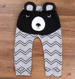 Wholesale Harem Pants For Toddlers - Hot Sale Boys Pants Bears Children Harem Pants For Girls Boy New Fashion Toddler Child Trousers Baby Clothes