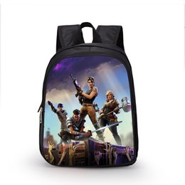 2018 New Fortnite Backpack Schoolbags for Children Cartoon Kids bag School  Bags for Boys and Girls Primary School Small Size 83361f07fcffb