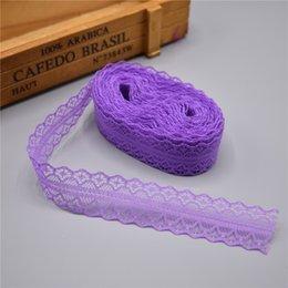 Net diy online-Nuevo Diseño Artes herramienta de la cinta del cordón 50 yardas Anchura de cinta 28 mm Recorte la tela de DIY bordado cuerda de la red para coser tela de la decoración africana del cordón