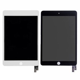 Wholesale ipad mini lcd digitizer - 5PCS Lot Tested For Apple iPad mini 4 A1538 A1550 LCD Display Touch Screen Digitizer Assembly Panel Replacement DHL Free