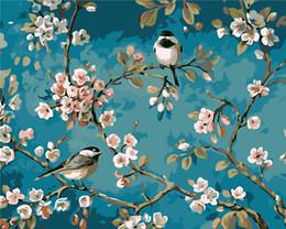 Peinture Sans Cadre Photo Par Numéros Home Decor DIY Numérique Toile Peinture À L'huile 16 * 20 pouce 31 ? partir de fabricateur