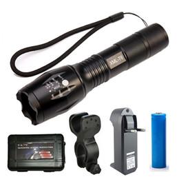 mini vélos Promotion Zoom Mini T6 LED Lampe Torche Tactique 3000 Lumens Étanche 5 Modes Vélo Vélo Lumière Rechargeable 18650 Chargeur Vélo Lampe Clip