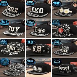 Discount hip hop graffiti cap - Men Women Baseball Cap Hip Hop Glow Eyes  Graffiti Maple 5cadeca9735