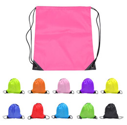 sport drawstring bags Coupons - Multi-function Solid kids clothes shoes bag  School Drawstring Sport 72c67ad8d5316