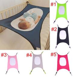 volle krippe bettwäsche setzt Rabatt Baby-Hängematte Euro-Artfamilie entfernbares tragbares Bett mehrfarbiges Jungenmädchensafe Hängematte