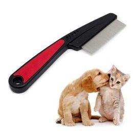 15 cm Cepillo para Perros de Acero Inoxidable Pin Cepillo Peine Para Perros Gatos Mango de Plástico Herramienta Cepillo para el Pelo Perro Al Por Mayor noDC20 desde fabricantes