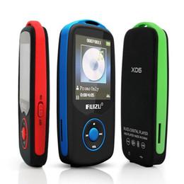 ebook mp3 player Promotion Nouveau lecteur de musique MP3 Bluetooth X06 Original 4G 1.8