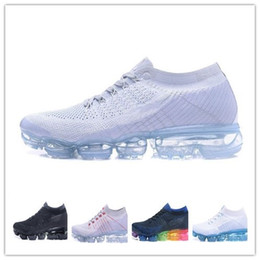 Wholesale Silver Bowtie - Drop Shipping Vapormax Running Shoes Men Casual Sneakers Women Sports Presto Air Cushion Outdoor Athletic Sports Hiking Jogging Shoes 36-45