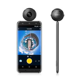 Lg видео онлайн-Камера Insta360 Air Panoramic 360 3K HD Мини-камера с двумя широкоугольными объективами VR 360 Видеокамера для смартфонов OPPO / Huawei / LG Andriod