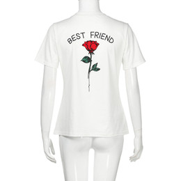 Plus Size Women T Shirt With Best Friend Designs For Teen Girls BFF Gifts Matching Funny Tops Tees Upto 5XL Coupon