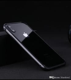 Argentina Nuevo iPhone XS Funda de parachoques de metal Marco de protección de aluminio ultrafino Parachoques iphone xr con funda de silicona suave forro de TPU Coque para iPhone X Suministro