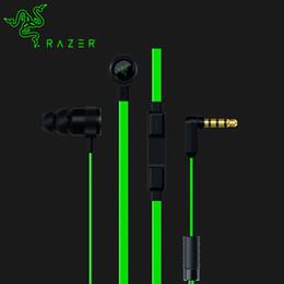 microphone de casques de jeu Promotion Razer Hammerhead Pro V2 écouteurs intra-auriculaires avec microphone + boîte au détail Gaming Headset Top qualité isolation phonique