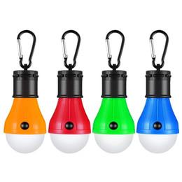 Лампа водить батарея для фонаря онлайн-LED Tent Lamp, Camping Lantern Lamp Emergency Light Battery Powered Waterproof Portable Bulb for Hiking Fishing Camping Househ