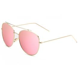 Wholesale Frame Protection Film - Polarized Women's Sunglasses Metal Frame Color Film UV Protection Sun Glasses Eyewear