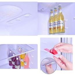 Wholesale Wholesale Beer Holders - 2pcs set BottleLoft Refrigerator Fridge Magnet Beer Bottle Jar Hanger Holder Storage Loft Organizer Magnetic Bottle Hanger CCA9064 10set