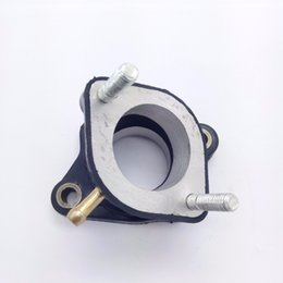 Wholesale Manifold Intake - New Intake Manifold With Pipe Curved 200CC 250CC 30MM ATV Quad Dirt Bike Motorcycle Parts