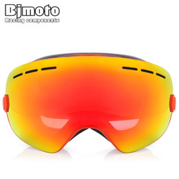 750364af3dbe BJMOTO Ski Goggles Motocross Goggles Mmasque Gafas Motorcycle Helmet Glasses  Double Lens UV400 Anti-fog Eyewear Snow Glasses