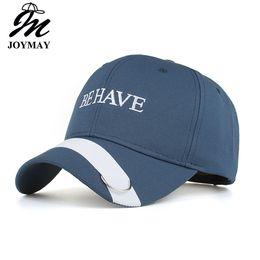 Joymay NUEVAS gorras de béisbol para hombres y mujeres Primavera bordado de  sombrero de ocio de moda SEA TENER algodón Snapback Unisex Sport Caps al  aire ... 5cda26bedeb