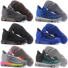 online retailer d30c1 06e78 Neue Ankunft Kevin KD 9 Elite Männer Basketball-Schuhe für Top-Qualität KD9  Durant IX BHM Herren Sport Turnschuhe Größe 7-12