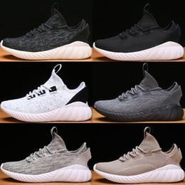 best website 2bd3c e204f Venta al por mayor 2018 Tubular Doom Sock PK Shoes Tubular primeknit Summer  Mesh Trainers Zapato para hombre Triple Negro Blanco Zapatillas de deporte  36-44 ...