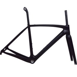 Wholesale carbon road bike 58cm - T1000 Full carbon racing road bike bicycle frame with brand logo available Light weight mechanial& di2 BSA BB30 PF30