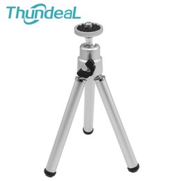 Wholesale Mini Phone Projectors - Firm Mini Tripod Portable Two Section adjustable Portable Projector Digital Camera Phone holder Mount Bracket Holder Stand YG300