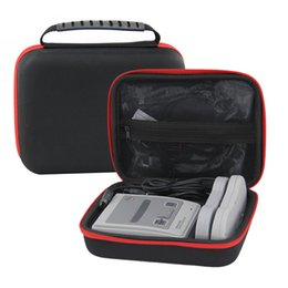Wholesale Hard Carry Case Cover Bag - EVA Hard Travel Pouch Carrying Case Bag for SNES Games Mini Classic SFC TV Handheld HD Game Console Entertainment Cover Sleeve Storage Hand