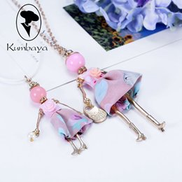 267e287ea Spring Styles Sets on Arrival !! Cute Dress Doll Necklace Girls and Kids  Sets Women Fashion Love Jewelry Gifts NS271