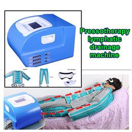 2019 detox dell'aria New professionale Pressoterapia Air pressure linfodrenaggio massaggio a infrarossi tutto il corpo detox dimagrante macchina di disintossicazione linfatica detox dell'aria economici