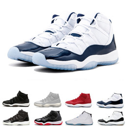 huge selection of cb7d8 d2420 2019 retro 13 rot Retro Air Jordan 11 AJ11 Nike Herren-Basketball-Schuhe 11