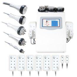 Wholesale Ultrasonic Vacuum Cavitation Machines - Beauty Salon Professional Radio Frequency Body Vacuum Ultrasonic Slim Cavitation Lipo Laser Machine for Weight Loss