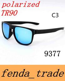 Wholesale Designer R - 2018 NEW outdoor sports Polarized lens sunglasses designer Eyewear sunglasses men women High quality TR90 Sunglasses HOLBROOK R 9377
