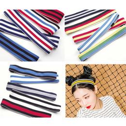 All'ingrosso molti fascia colorata banda sport fascia elastica dei capelli palestra all'aperto in esecuzione Yoga Sport Fascia Hair Hoop Accessori da topi rossi fornitori