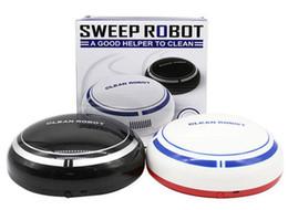 spazzatrice automatica Sconti DROP Nuovo automatico USB Smart Robot aspirapolvere Piano casa ricaricabile Mini Cartoon Cleaner Spazzatrice aspirante Piccola casa Futural