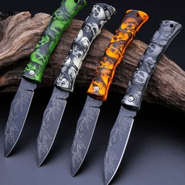 Wholesale fruits price - Fashion folding pocket knife more colors outdoor camping survival mini knife fruit knife ABS handle at the lowest price