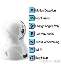 Wholesale two way cameras - Indoor 1080P HD WiFi Security Camera IP Camera Home Surveillance Nanny Cam Motion Detection Alert Two Way Audio Night Vision Remote Control