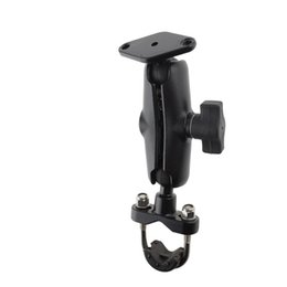 Wholesale Armed Motorcycle - Generic Aluminum Motorcycle Handlebar Mount + long Socket Arm for Garmin for Zumo TomTom Rider compatible ram mounts