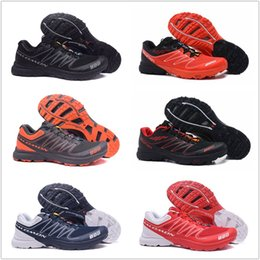 Wholesale men s fall fashion - 2018 Salomon S-Lab Sense M Running Sneaker Best Quality Mens Shoes New Fashion Athletic Running Sports Outdoor Hiking Shoes