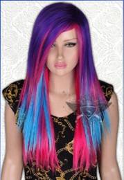 Peruca de bowknot on-line-Amor Ao Vivo! / South Birds Flaxen Bowknot + Tranças Longa Em Linha Reta Styling Peruca HairFree grátis New High Quality Moda peruca