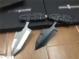 Cuchillo táctico extrema relación online-Calidad superior Extrema Ratio S.E.R.E 1 Cuchillo táctico de supervivencia al aire libre D2 Tanto Blade G10 Handle cuchillos de cuchilla fija 1 unids freeshipping
