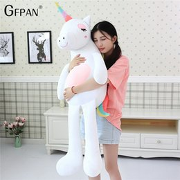 stuffed animal cushion Promo Codes - New 60CM Lovely Pillow Cushion Toys, Soft Cotton Animal Plush Toys, Stuffed Doll Baby Room Decoration Birthday Gift