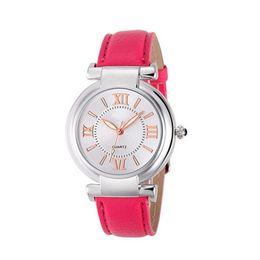 Wholesale Roman Leather Bracelet - Claudia 2017 Fashion Quartz Watch Women Girl Roman Numerals Leather Band Wrist Bracelet Watches Hot Sale Excellent Quality Cheap