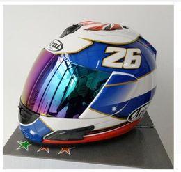 Wholesale tt helmets - ARAI RX-7X New LE Helmet Motorcycle Helmet EU  CORSAIR-X TT Full Face Motocoss Racing Helmet Isle of Man, Capacete